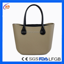 HOT!!! Fashion Silicone Tote Bag/Silicone Ladies Handbag