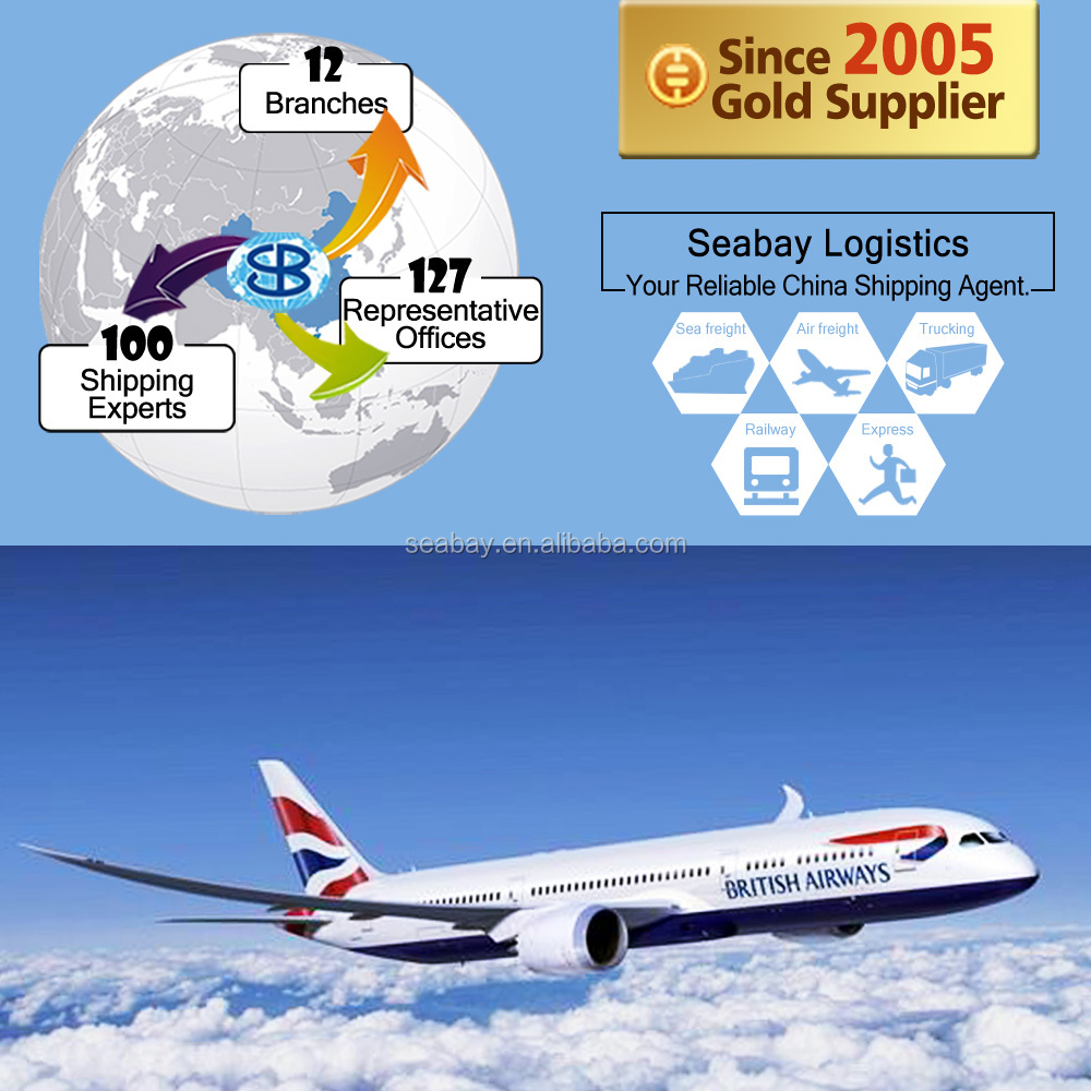 Reliable air freight cargo from china to rio de janeiro