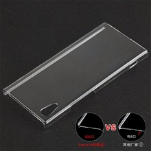 Crystal Pc Clear Blank Cell Phone Armor Case Cover For Sony Xperia Xa1