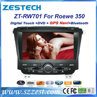 ZESTECH wholesales auto accessory for Roewe 350 2 din car dvd player