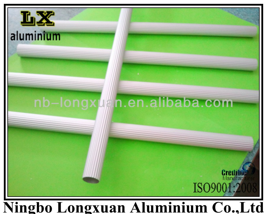 Anodized corrugated aluminum tube/Aluminium tube Suppliers
