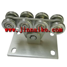 power coating cantilever gate hardware,automatic gate wheels