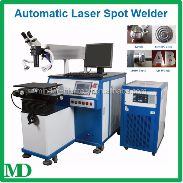 High quality stainless steel auto parts/mould laser spot welding machine for sale
