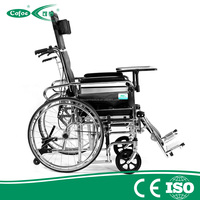 Cofoe foldable ,durable manual wheelchair for elderly