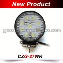 Zhongshan factory extra bright chinese IP68 watertight auto 27w led work light