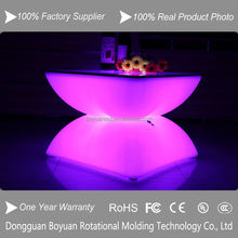 Good Quality Plastic Strong LED Light Up Bar Furniture