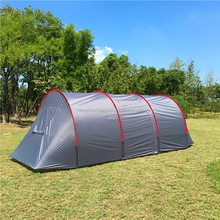High-end 8 Person Family Tunnel Tent, CZX-206 Backpacking Family Tent,2 room 1 hall tunnel tent,Family camping Tent
