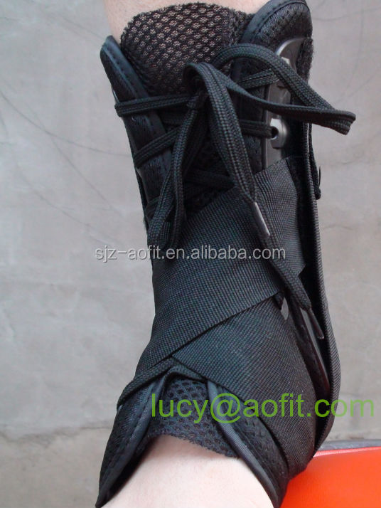Ankle Support brace foot laced up with bandage CE/FDA/ISO Approved