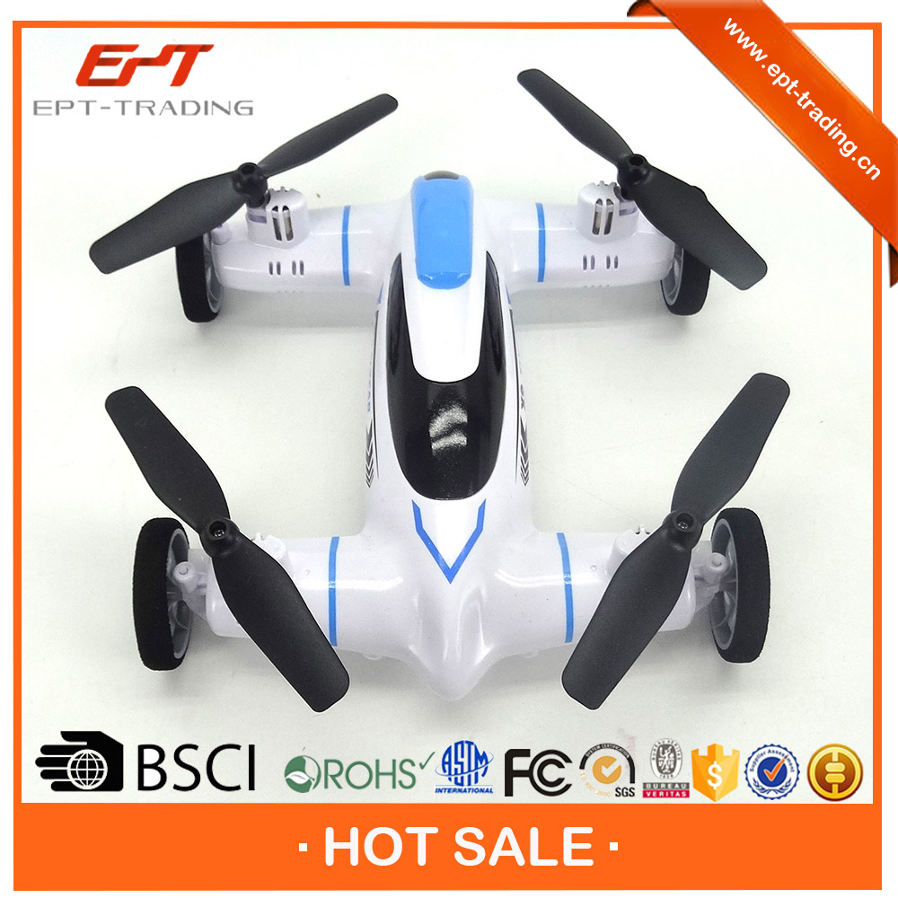 Battery included 4CH 4 axis rc flying car for sale