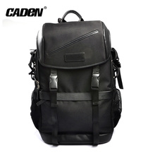 Cheap Fashion Wholesale Small Leather Nylon travel Camera Backpack Bag