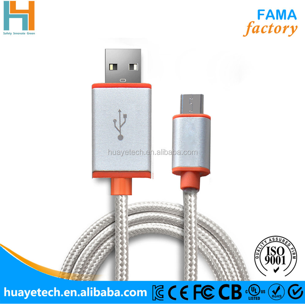 1M 2M 3M China Customized micro usb cable wire electrical