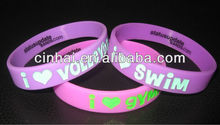 cheap sell high quality custom inspirational silicone wristbands