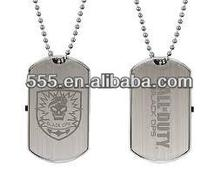 Cool metal usb flash drive 64MB-32GB dog tag usb necklace