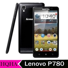 Original Lenovo P780 phone MTK6589 CPU 1GB RAM 4GB ROM 8.0M Camera 5.0 inch screen dual sim card Mobile Phone