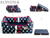 wholesale alibaba best selling products kennel Jeans soft warm check luxury pet dog bed with removable bottom
