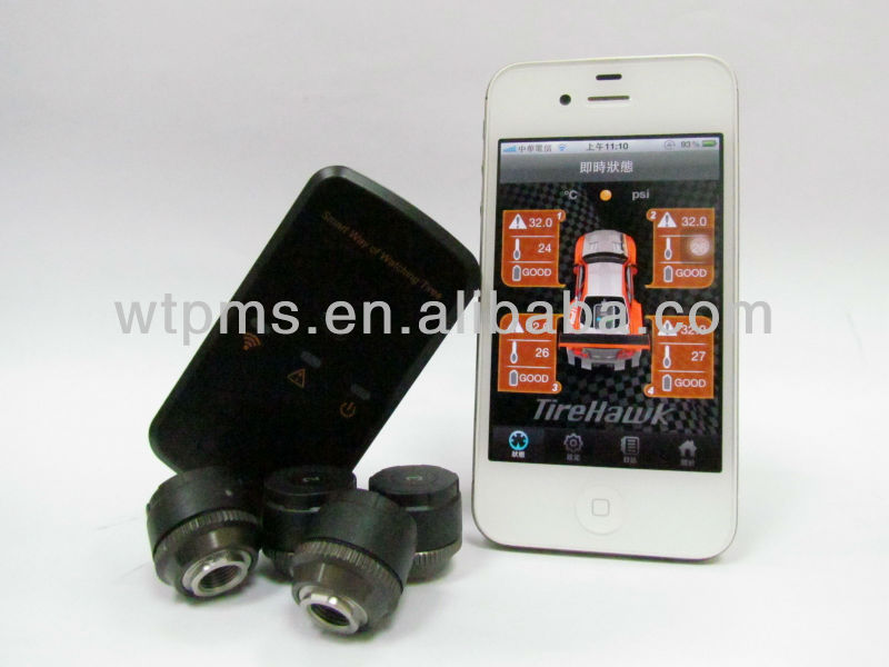 Andorid APP phone TPMS, Tire Pressure Monitoring System