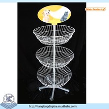 4 layer basket metal dolls display stand HL165A