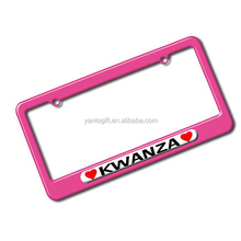 Holiday Promotional License Plate Frame