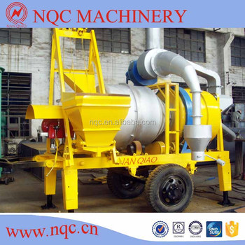 HLB-8, 8t/h Mobile Hot Mix Plant for Sale