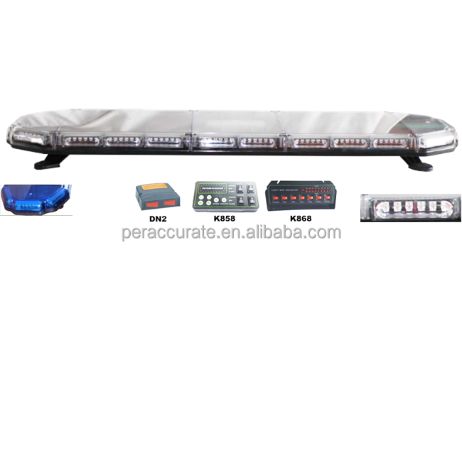 LED Light Bar Warning Lamp Light Controller Police Light bar PA