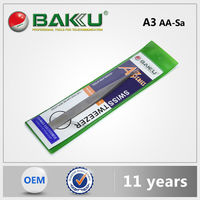 Baku Highest Level Nice Design Antistatic Tweezer For Mobile Phone
