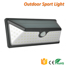Easy Install 73 LED Outdoor Solar LED Light-controlled Wall Lamp