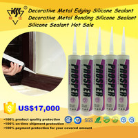 Hot Sale Decorative Metal Edging And Bonding Silicone Sealant