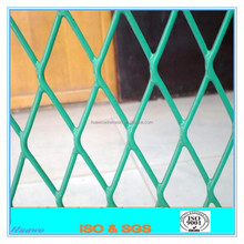 Plastic coated expanded metal lath/ vinyl coated expanded metal
