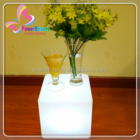 outdoor 20cm mini glowing garden led cube light