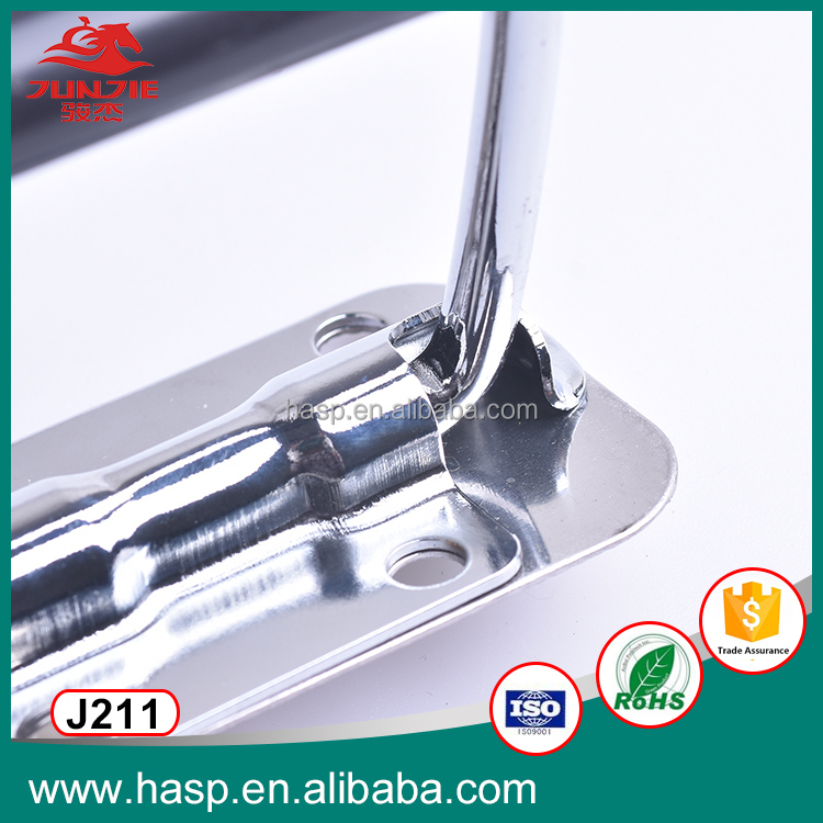Metal road case handle, telescopic case handle J211