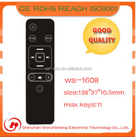 multi frequency universal led remote control with manual pcb remote control