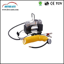 High quality 2015 hot sell DC12V/24V SINGLE CYLINDER portable dc 12v mini car air compressor
