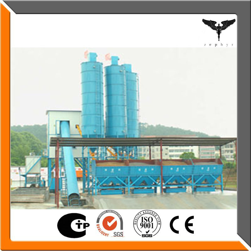 HZS50 mini concrete manufacturing batching plant for sale