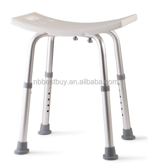Adjustable Bath Bench or Shower Chair Bench Seat Stool