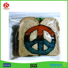 Printed poly bag suppliers dried food plastic packaging bag for chips /snacks