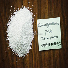 Offering CIF price calcium hypochlorite granular 70% for swimming pool disinfectant / sterilization bleaching