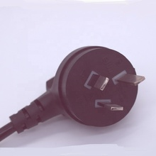 1.2m black SAA as 230v power cord with stripped end <strong>H05VV</strong>-F 3G*0.5/0.75/1.0mm2
