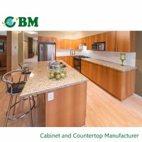 Modular Color Combinations PVC Kitchen Cabinet