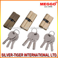 Standard Door Lock Cylinder And Key