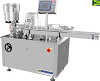 Factory direct sale automatic small scale tablet bottle filling machine