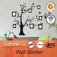 wall stickers home decor static cling wall decal