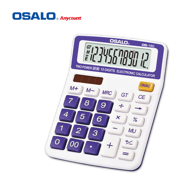 OSALO custom calculator factories colorful desktop calculator