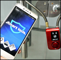 High End Electronic Bike Lock Security Shop Glass Door Bluetooth Lock With Mobile Phone Control