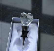 Crystal Wine Stopper for wedding decoration