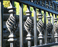 Wholesale Price Wrought Iron Low Carbon Steel Scroll Balusters