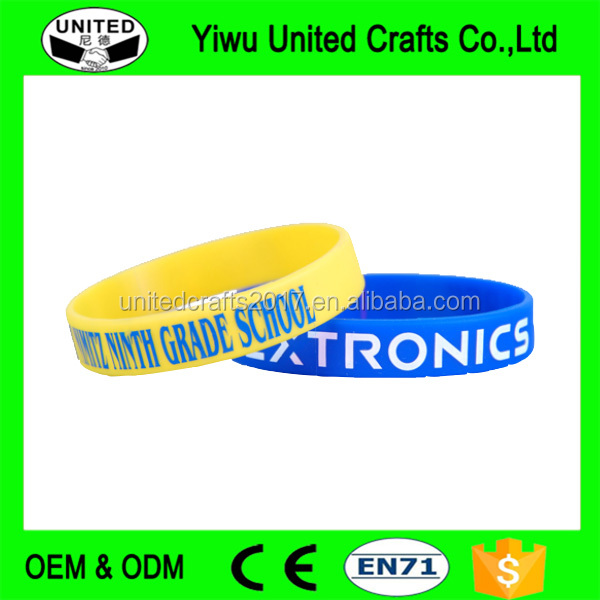 Silicone Wristbands lot Bracelets Wrist Band Bracelet Rubber Cuff Bangle
