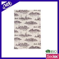 textile promotional 100% cotton printed kitchen towels /tea towels manufacturer
