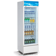 wholesale upright one glass door large beverage refrigerator