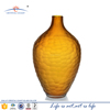 Large oval handblown frosted glass mosaic vase factory for wedding decoration