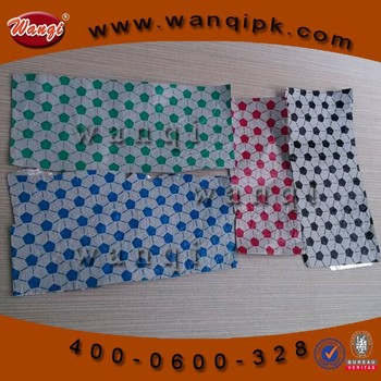 colored and printed aluminum foil laminated paper for chocolate packing